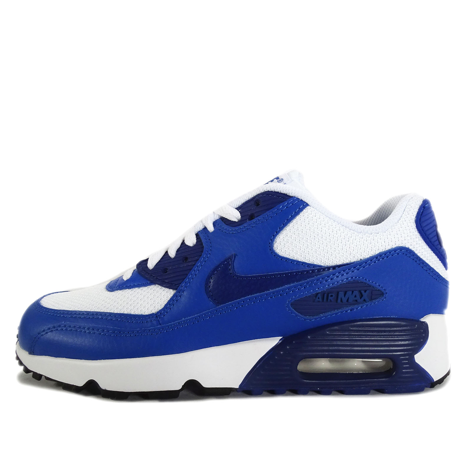 Nike Air Max 90 Mesh (GS) Bluecap White Deep Royal Blue